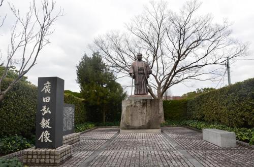 03-福岡-广田弘毅像