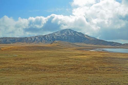 温泉,火山,草原 Hot Spring, Volcano, Grassfield