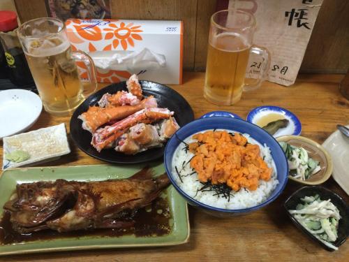 05-網走-大螃蟹与海胆饭