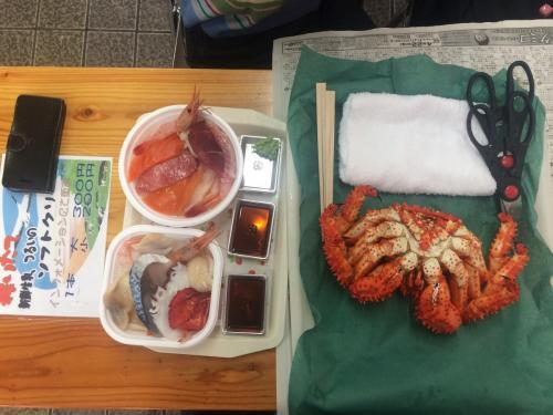 09-釧路-勝手丼&花咲蟹