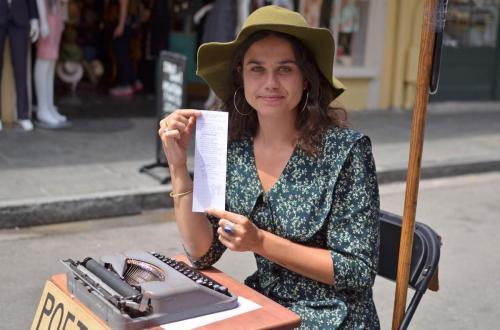 04-新奥尔良-为我们写诗的街头诗人