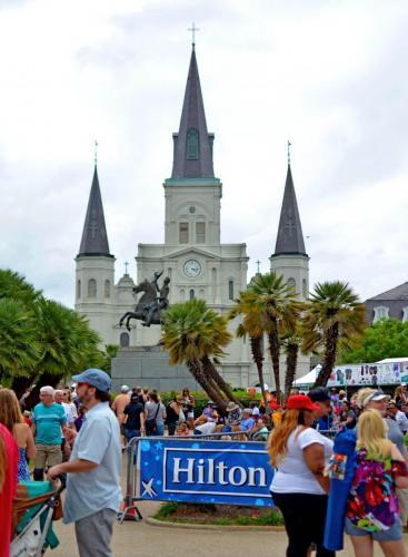 08-新奥尔良-圣路易大教堂 St. Louis Cathedral