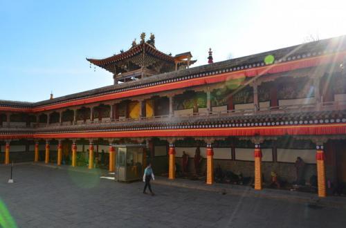 03-西宁-塔尔寺的阳光