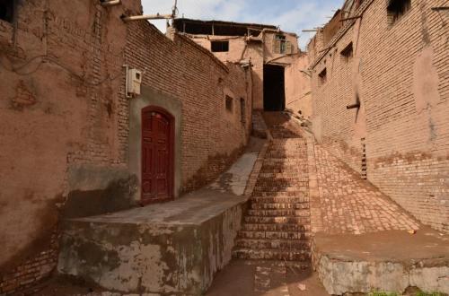 06-喀什-高台民居的小路