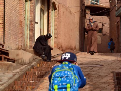 07-喀什-高台民居的住民